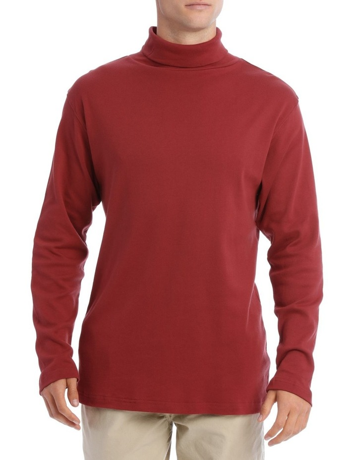 Turtleneck Skivvy Red image 1