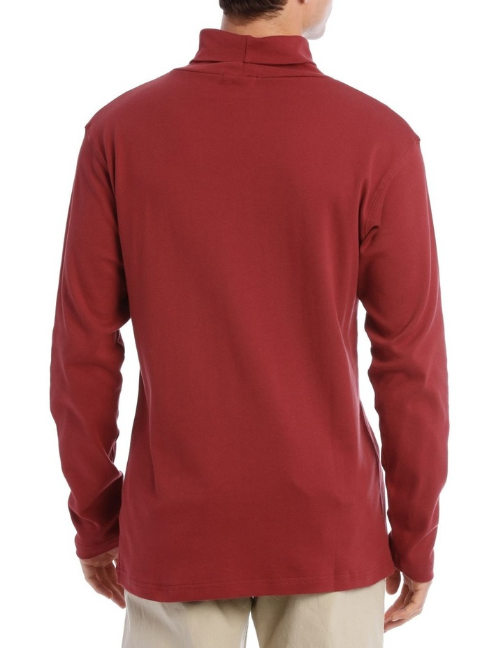 Turtleneck Skivvy Red image 3