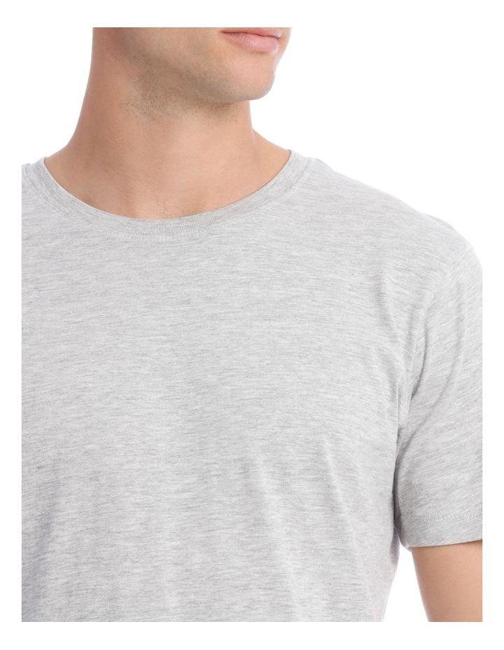 Solid Sleep Tee Grey Marle image 3