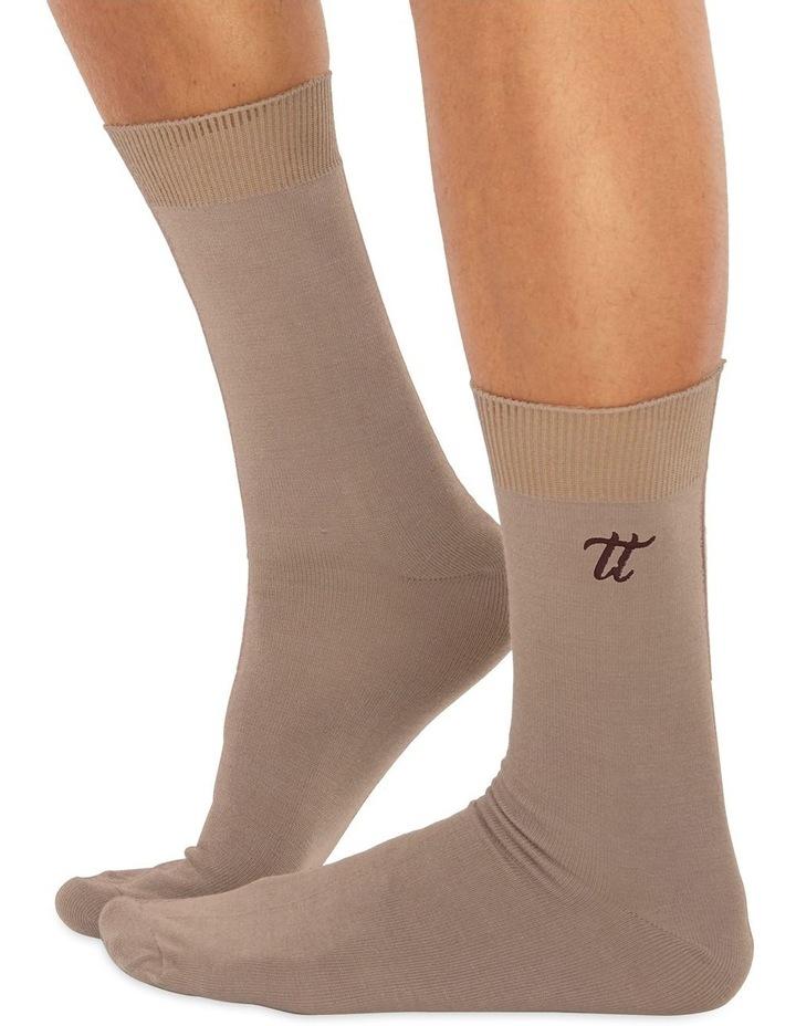 Men's Socks in Nude image 1