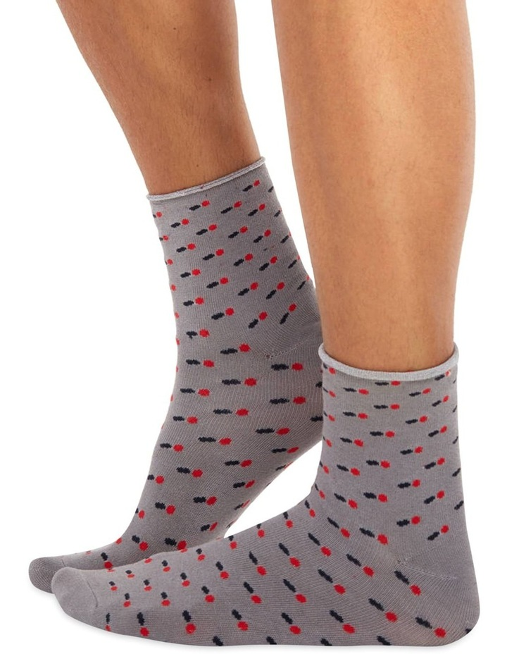 Men's Socks in Grey Balls image 1