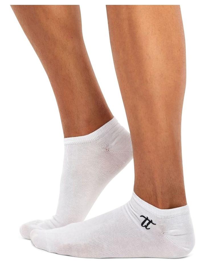 Men's Socks in White image 1