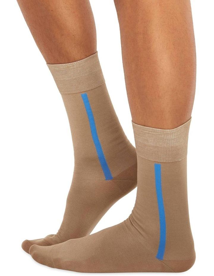 Men's Socks in Light Brown image 1