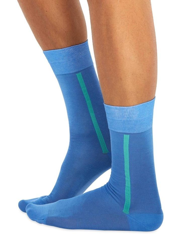 Men's Socks in Light Blue image 1