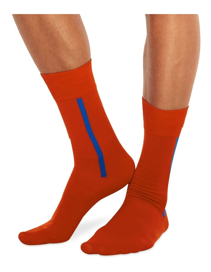 Men's Socks in Red image 1