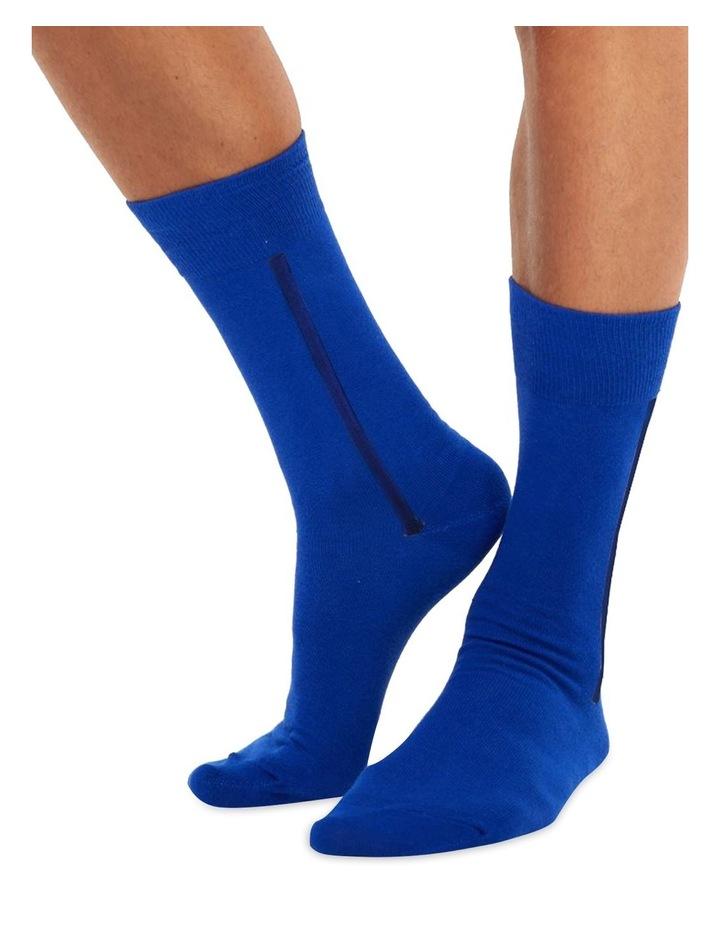Men's Socks in Dark Blue image 1