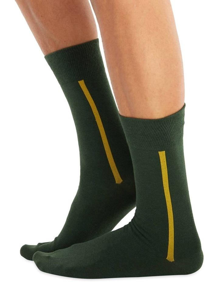 Men's Socks in Green image 1