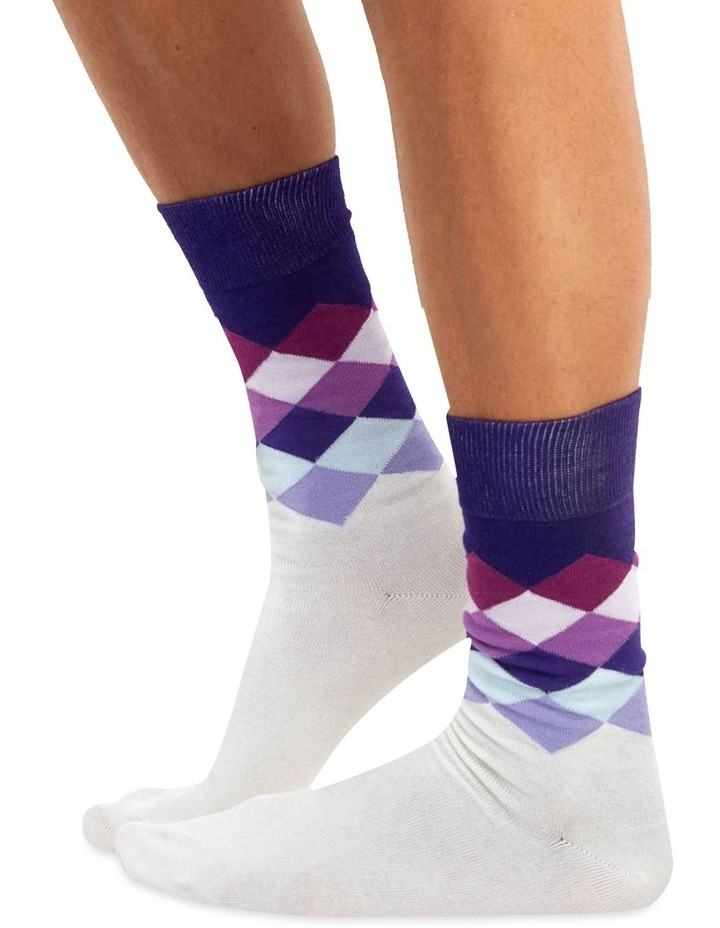 Men's Socks in Velvet rhomb image 1