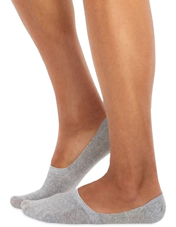 Chusette Men's socks in Grey melange image 1
