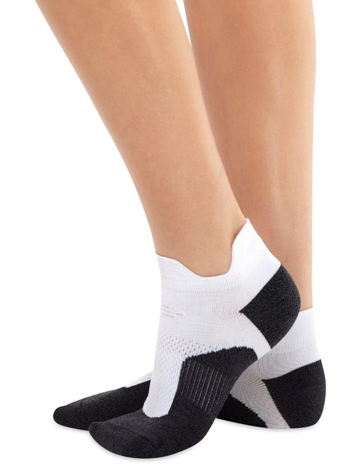 Men's Socks in White/Black image 1