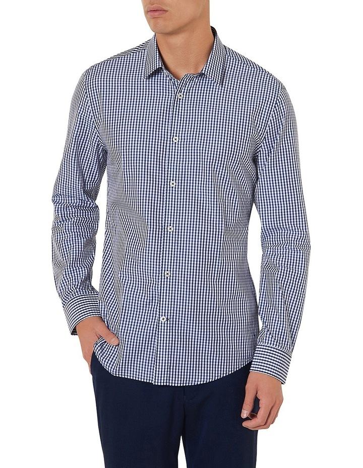 Saunders Slim-fit Check Shirt image 1