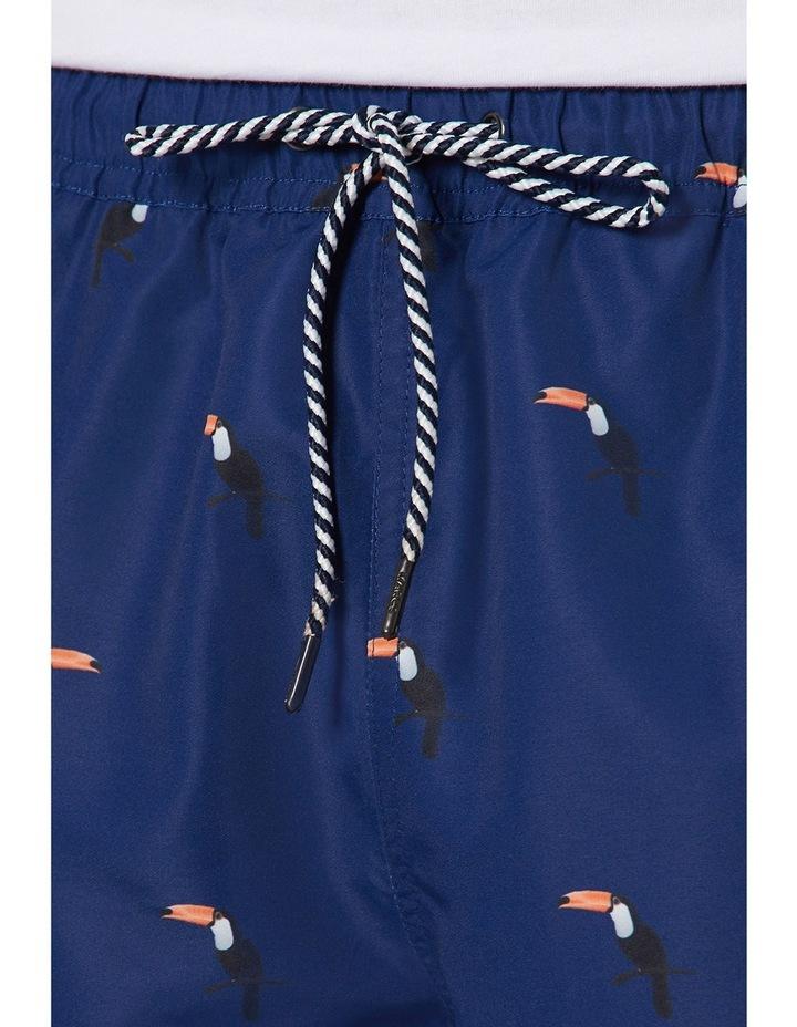Brad Toucan Print Swim Shorts image 4