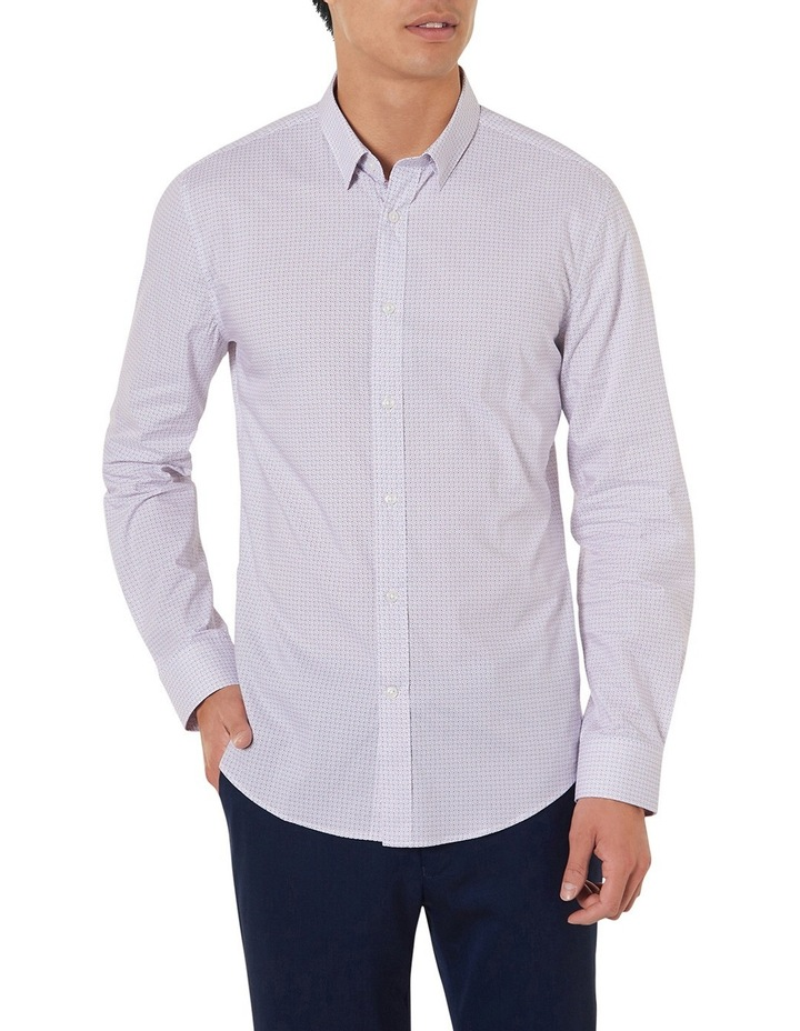 Johnson Slim-fit Printed Shirt image 1