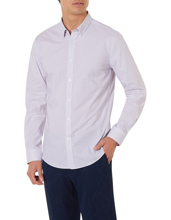 Johnson Slim-fit Printed Shirt image 2