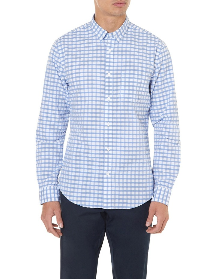 Cappy Regular-fit Seersucker Cotton Shirt image 1