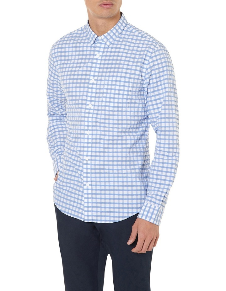 Cappy Regular-fit Seersucker Cotton Shirt image 2