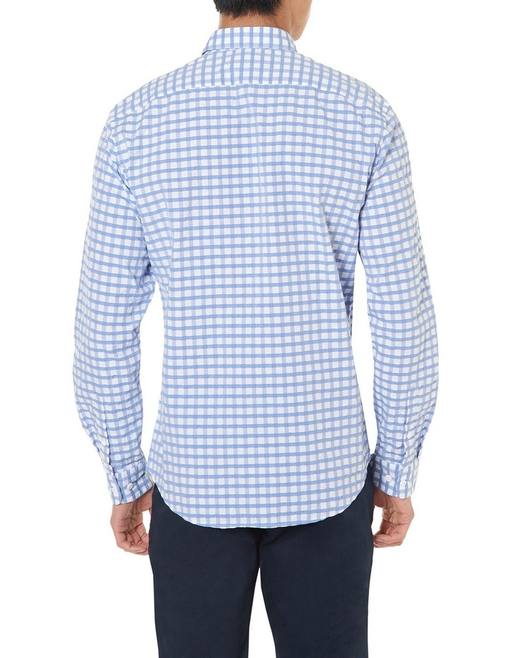Cappy Regular-fit Seersucker Cotton Shirt image 3