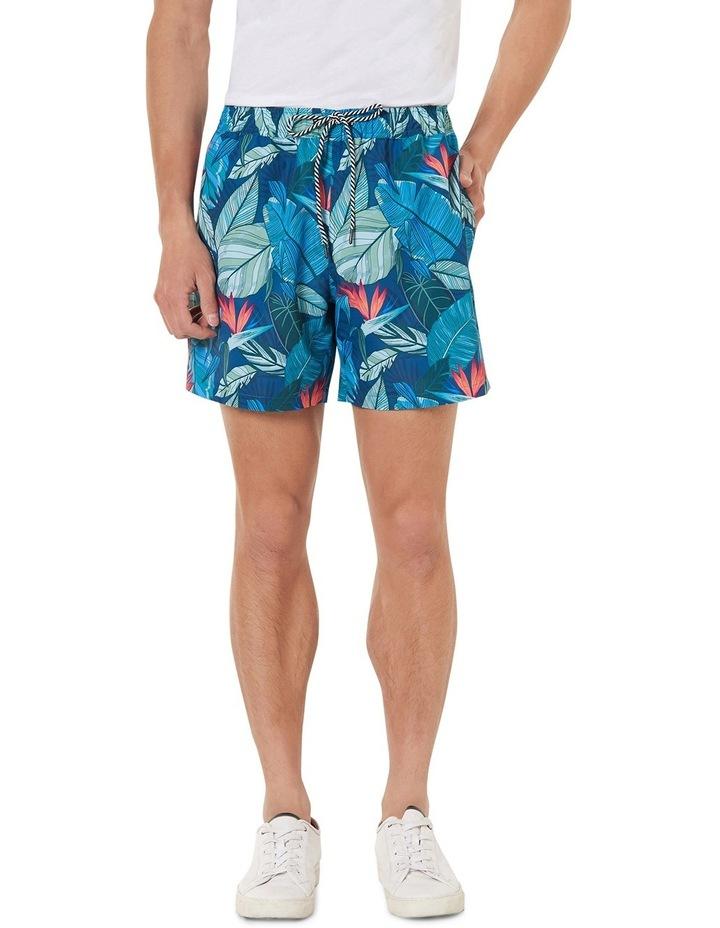 Jacoby Tropical Print Swim Shorts image 1