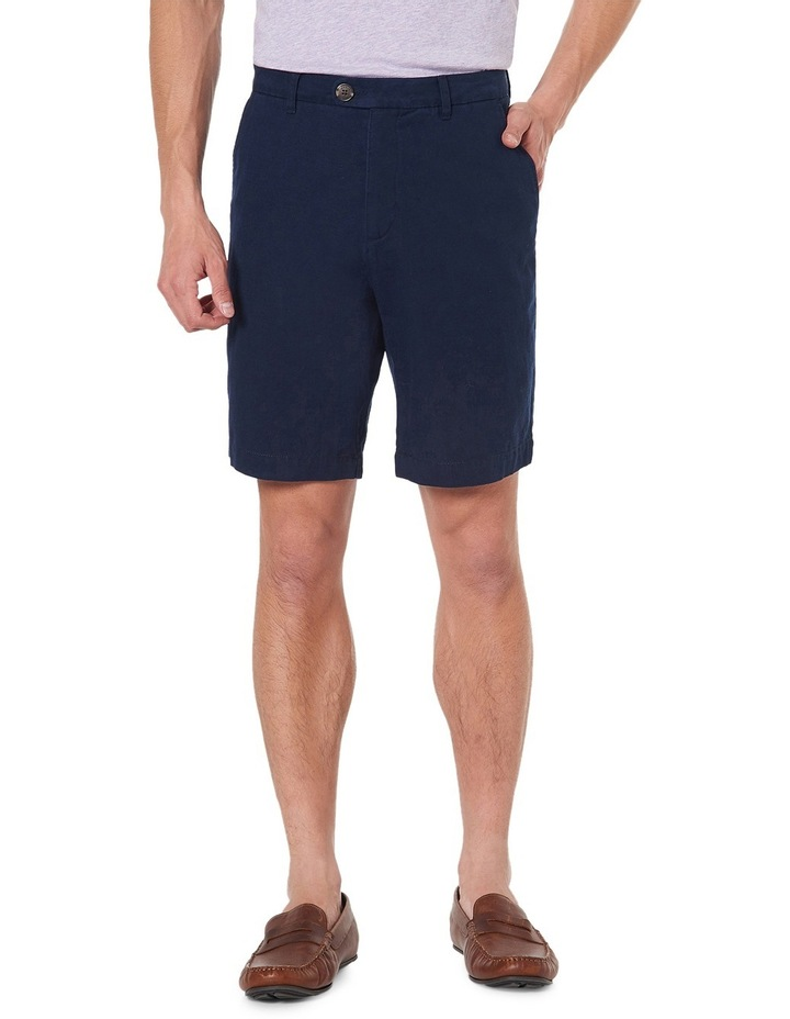 Bragg Linen Blend Shorts image 1