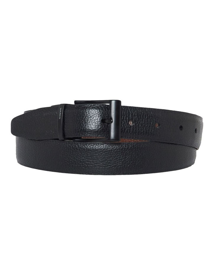 Brooklyn Reversable Smooth Leather Belt image 1