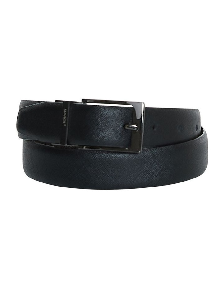 Saffiano Reversable Textured Leather Belt image 1