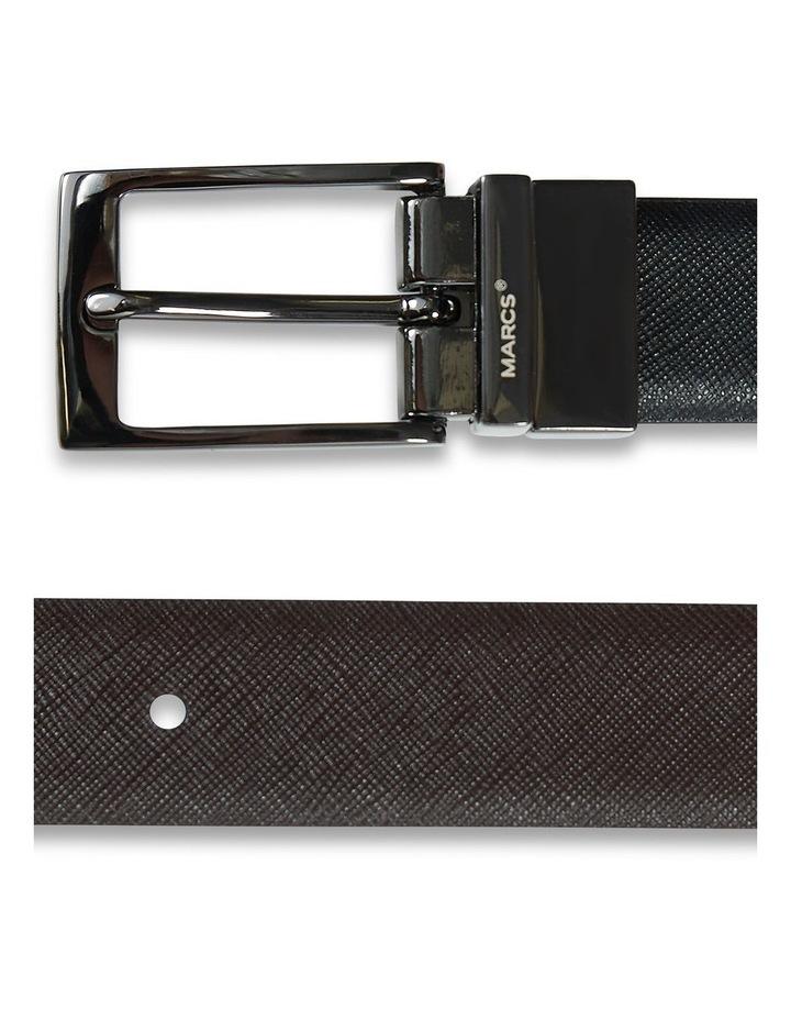 Saffiano Reversable Textured Leather Belt image 2