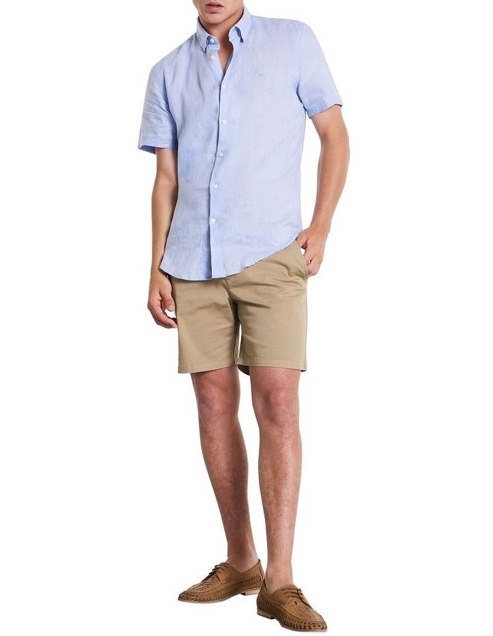 Dan Short Sleeve  Linen Shirt image 2
