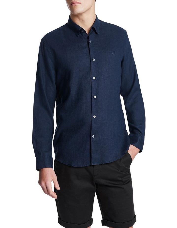 Dan Long Sleeve Linen Shirt image 1