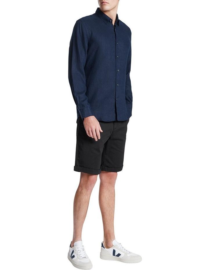 Dan Long Sleeve Linen Shirt image 2