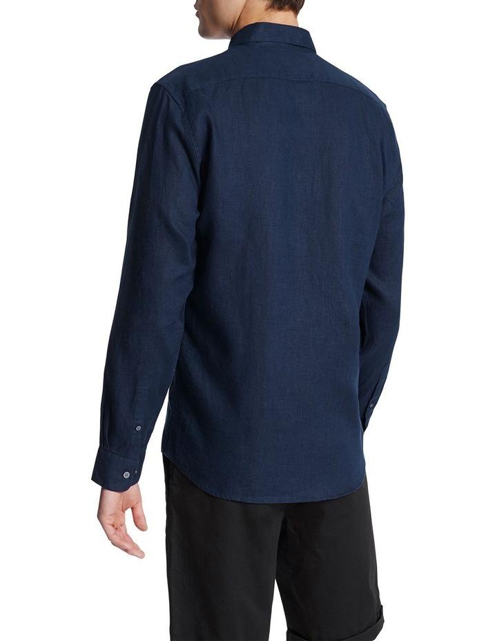 Dan Long Sleeve Linen Shirt image 3