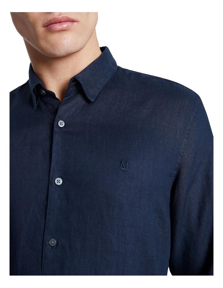 Dan Long Sleeve Linen Shirt image 4