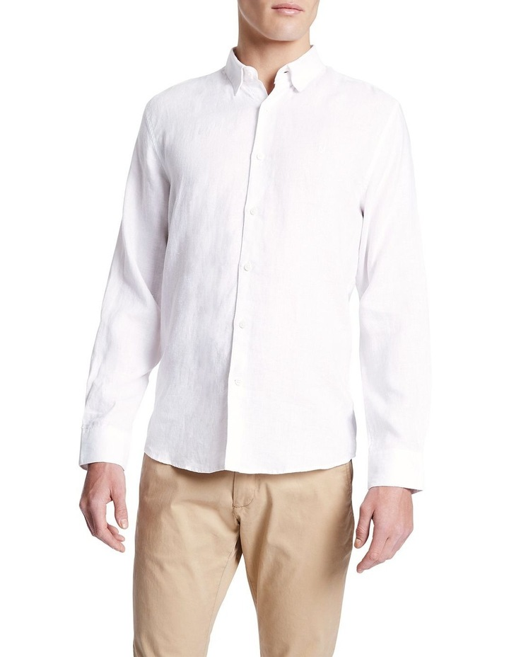 Dan Long Sleeve Linen Shirt image 1