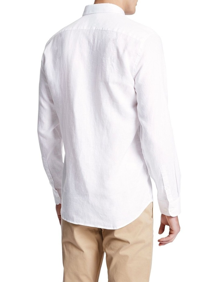 Dan Long Sleeve Linen Shirt image 3
