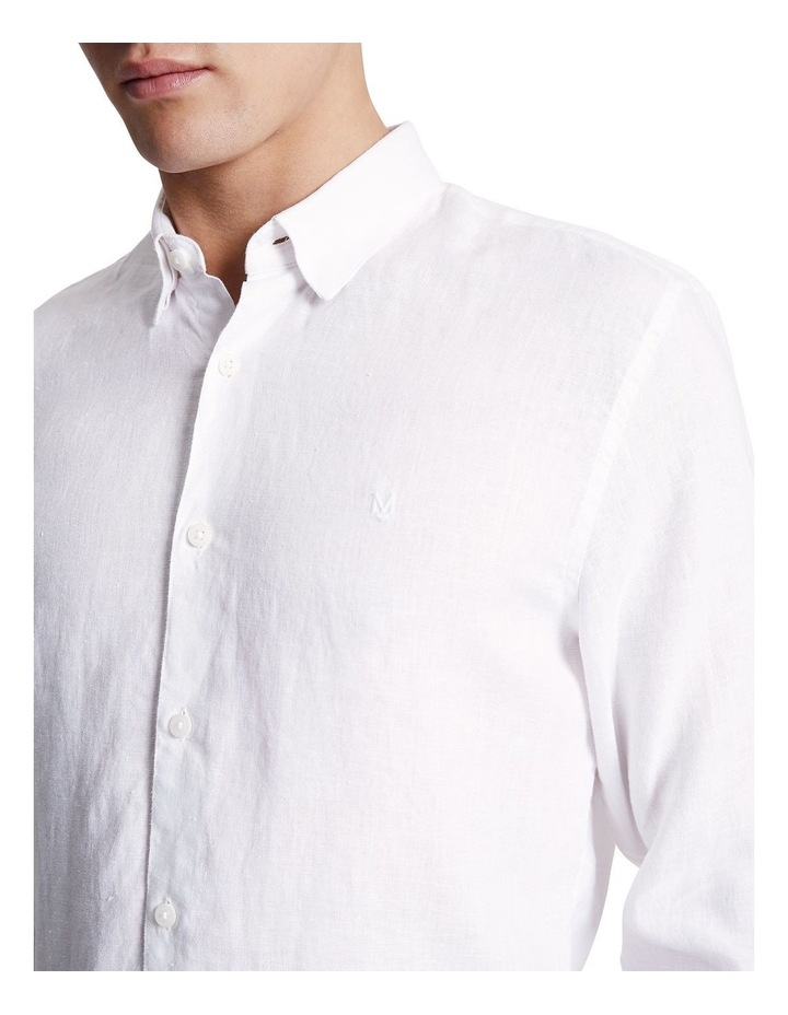 Dan Long Sleeve Linen Shirt image 4