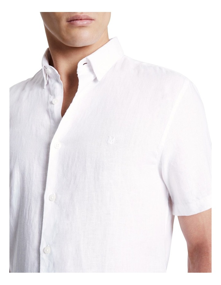 Dan Short Sleeve Linen Shirt image 4