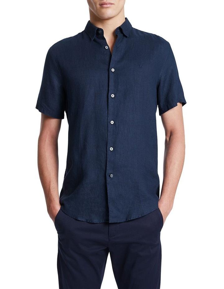 Dan Short Sleeve Linen Shirt image 1