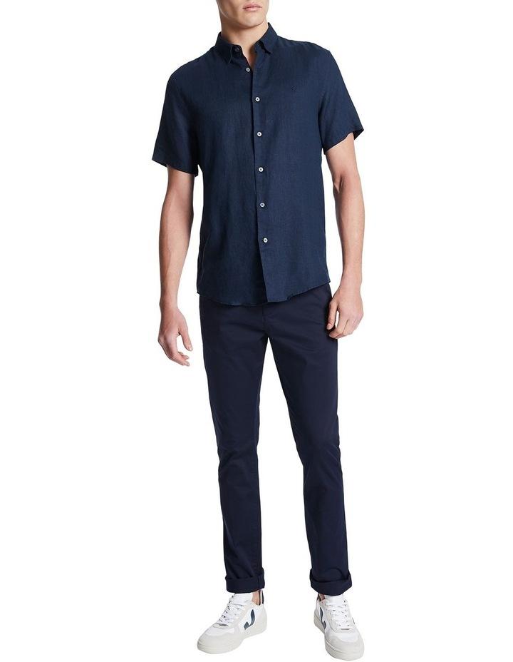 Dan Short Sleeve Linen Shirt image 2