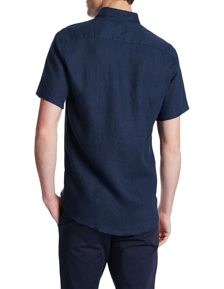 Dan Short Sleeve Linen Shirt image 3