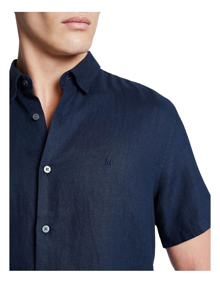 Dan Short Sleeve Linen Shirt image 4