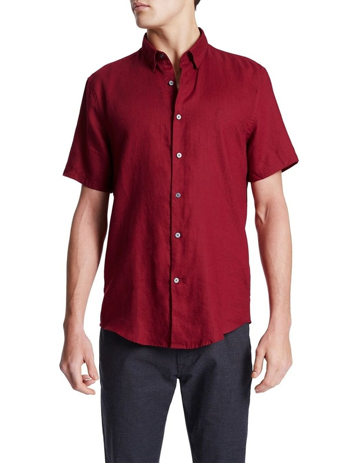 Dan Short Sleeve Linen Shirt image 1