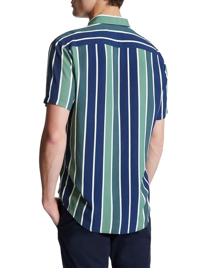 Knox Short Sleeve Stripe Shirt image 4
