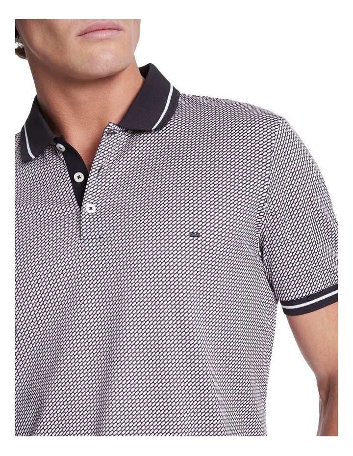 Griffin Print Polo image 4