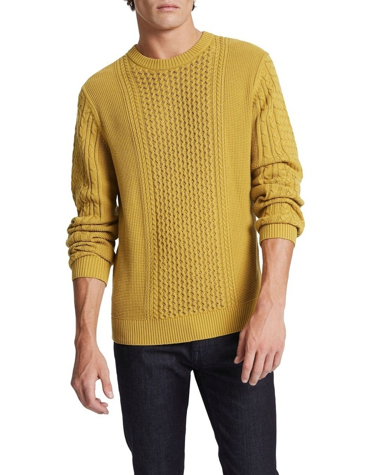 Beta Cable Crew Knit image 1