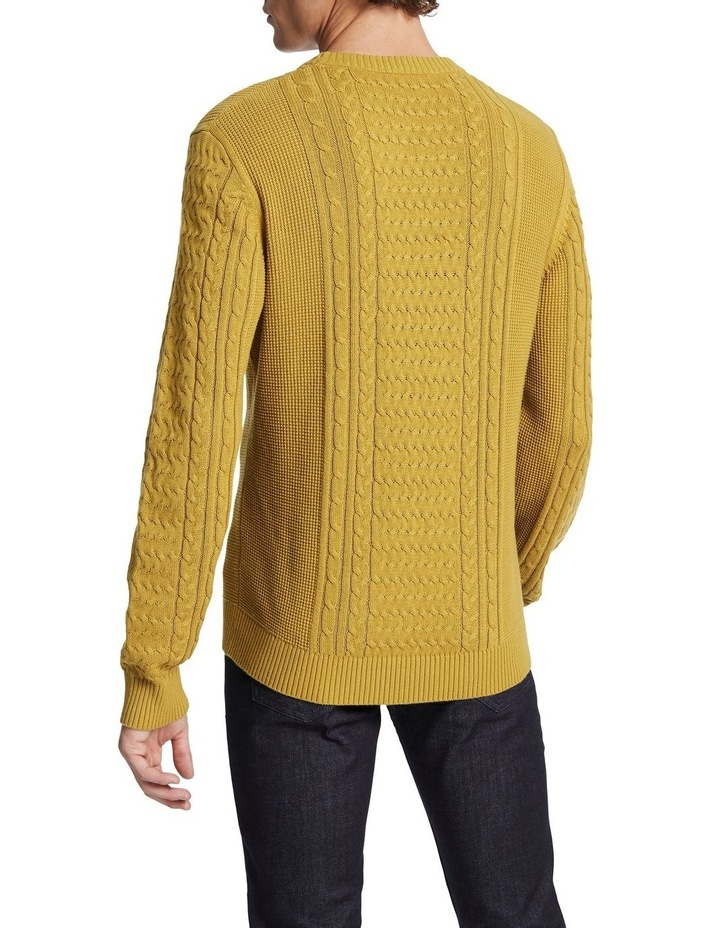 Beta Cable Crew Knit image 3