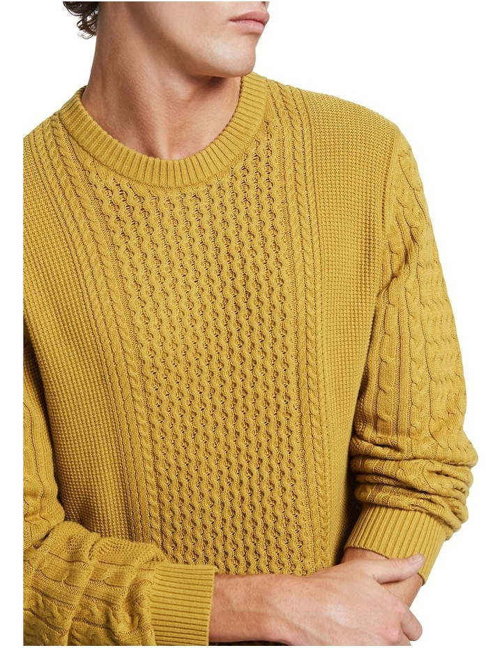 Beta Cable Crew Knit image 4