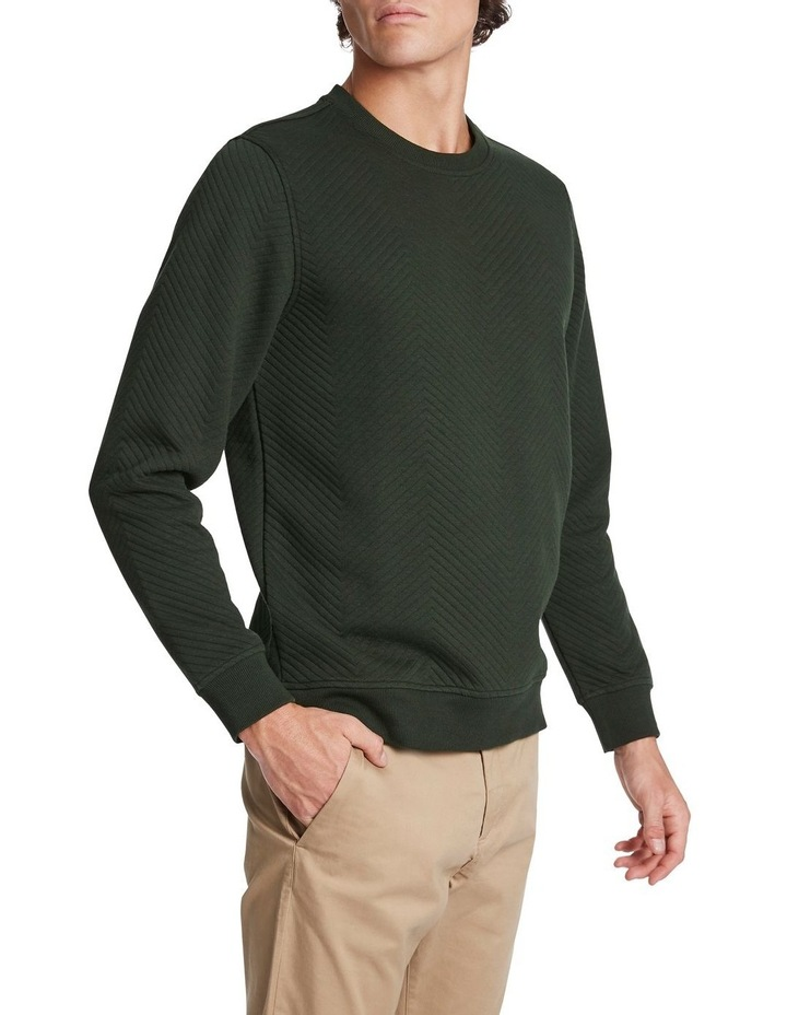 Reid Quilted Sweater image 1