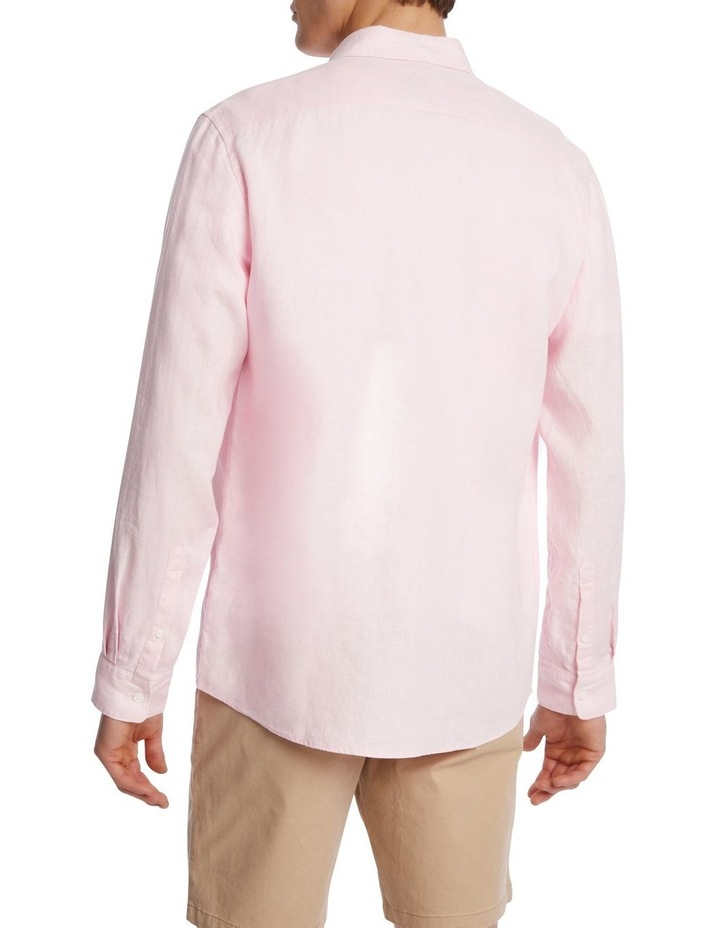Felix Linen Long Sleeve Shirt image 3