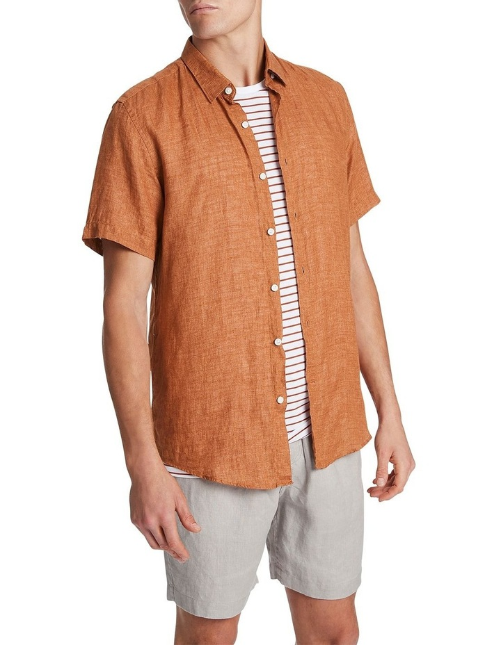 Felix Linen Short Sleeve Shirt image 1
