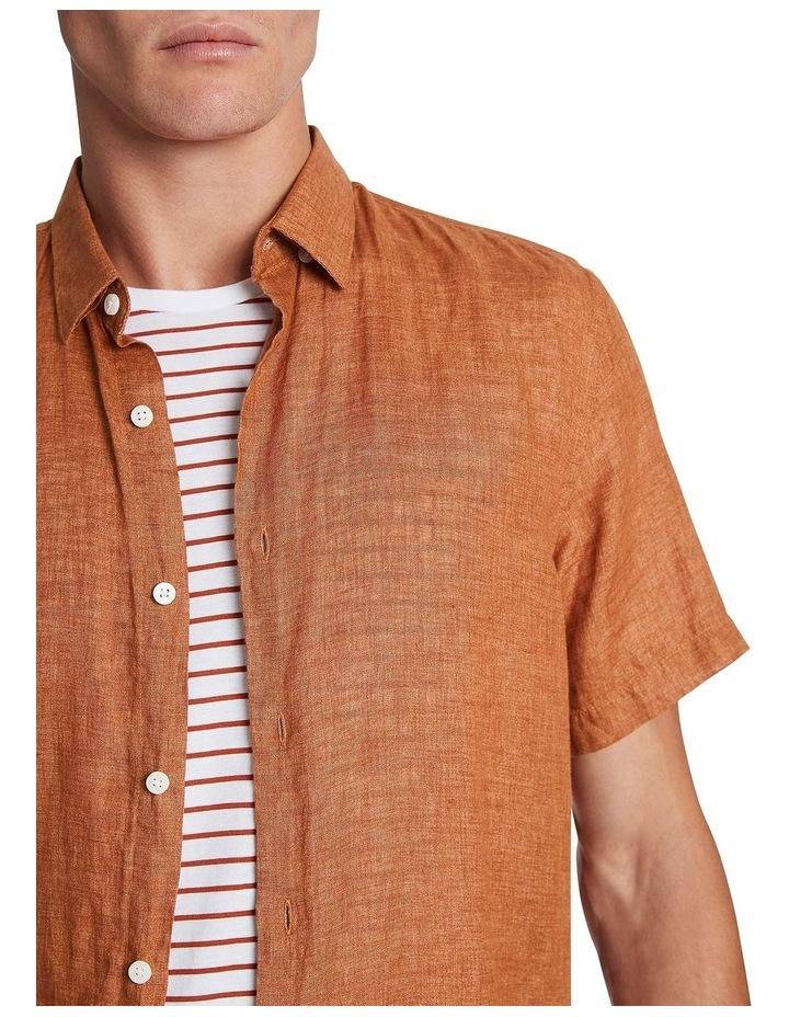 Felix Linen Short Sleeve Shirt image 4