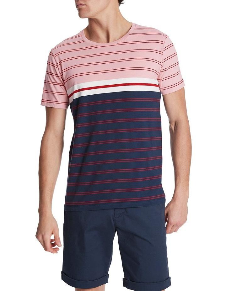Thad Stripe Tee image 1